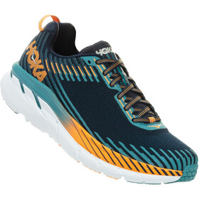 Hoka One One Clifton 5 Running Shoes Herren black iris/storm blue